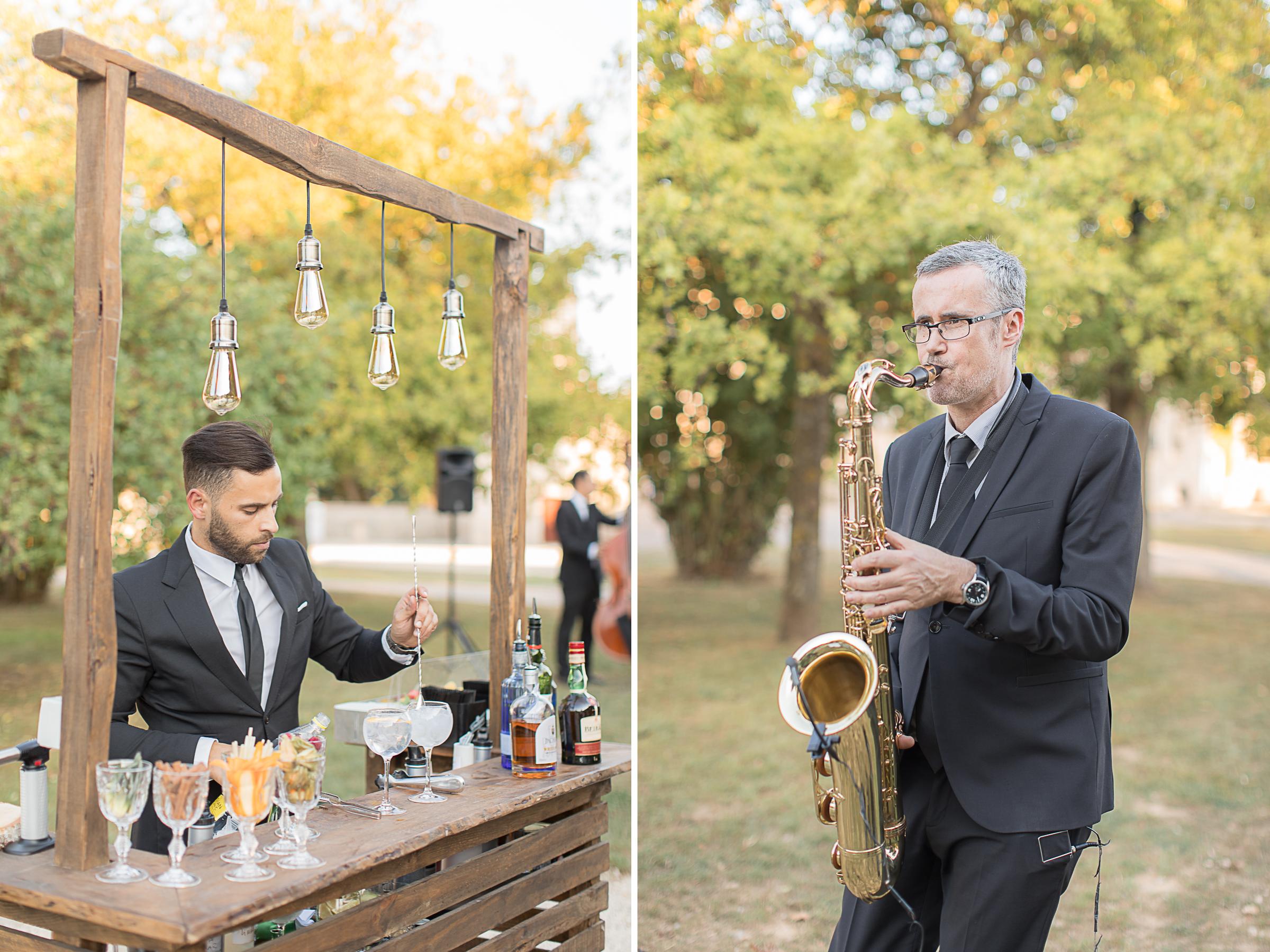 animation cocktail à la ferme du prieuré