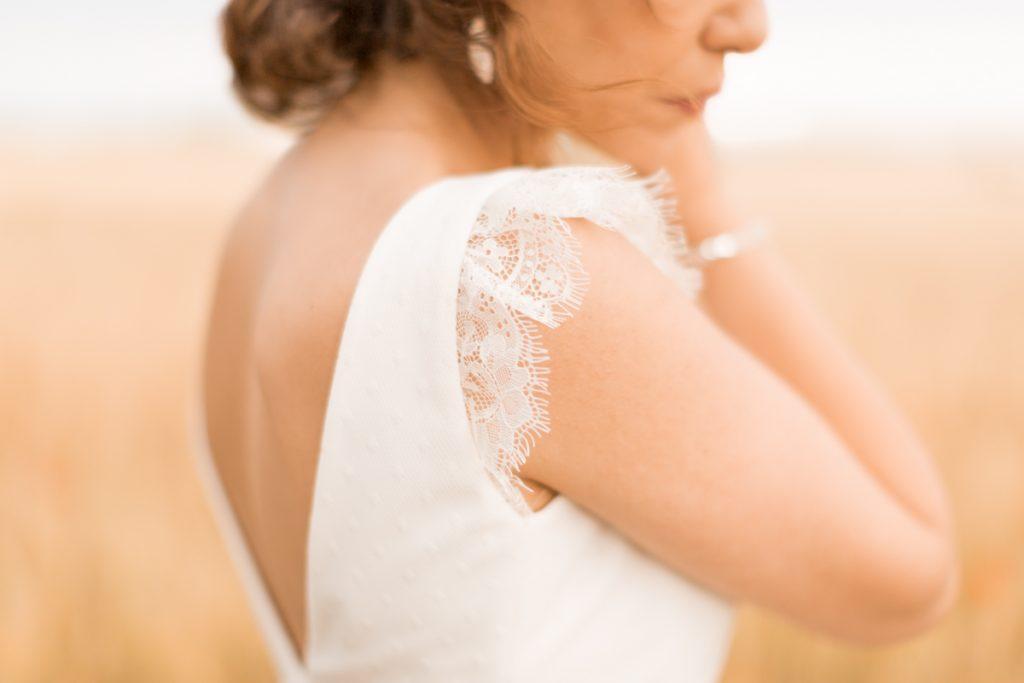 robe de la mariée domaine banquière provence france
