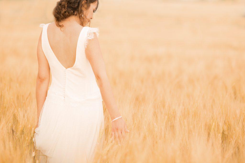 photos de la mariée en provence