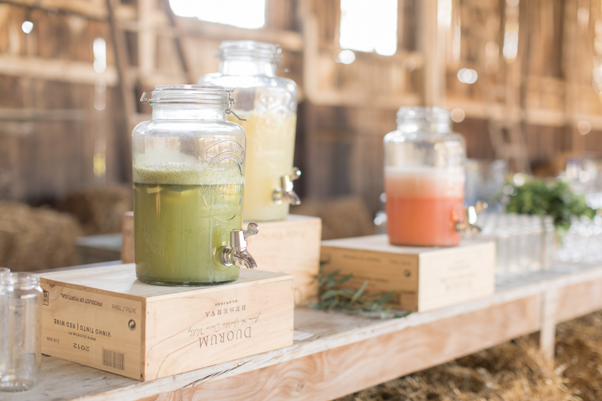 cocktail à la ferme du prieuré