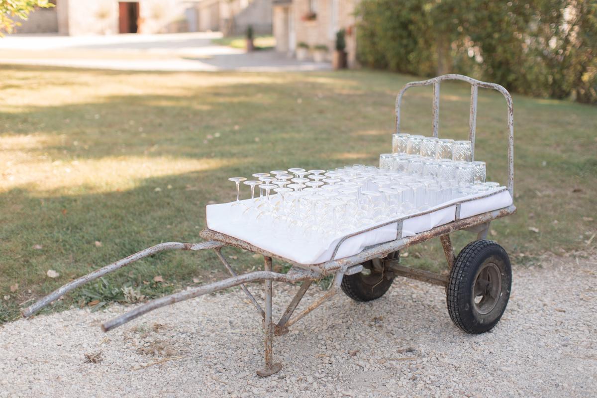 cocktail rustique mariage