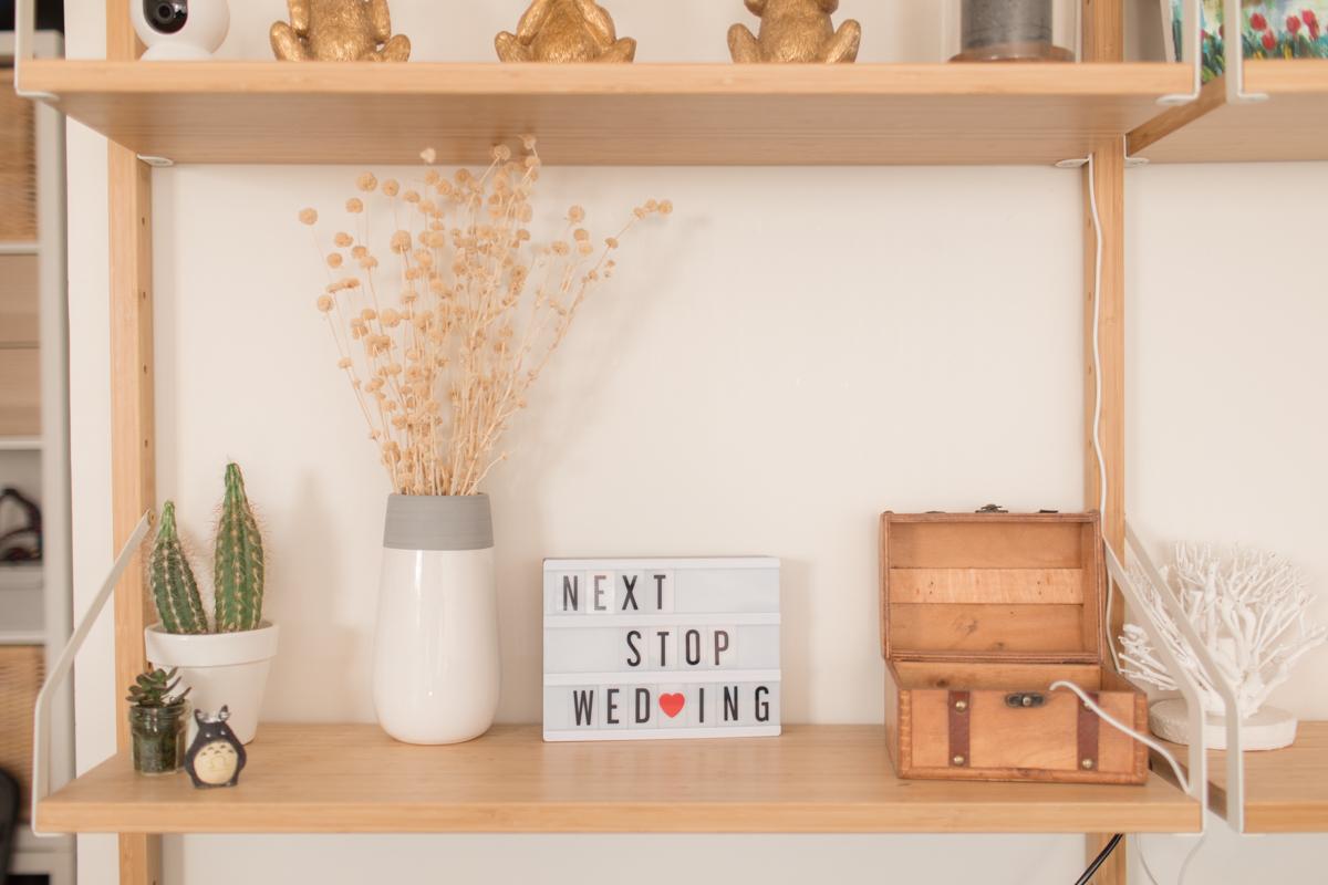 décoration appartement mariage