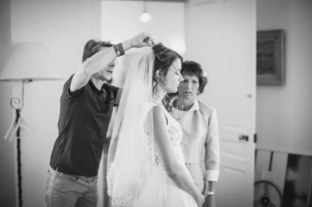 voile de la mariée église