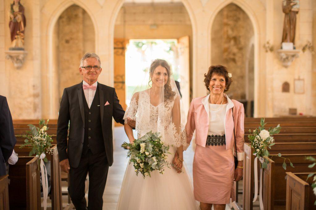 entrée de la mariée église