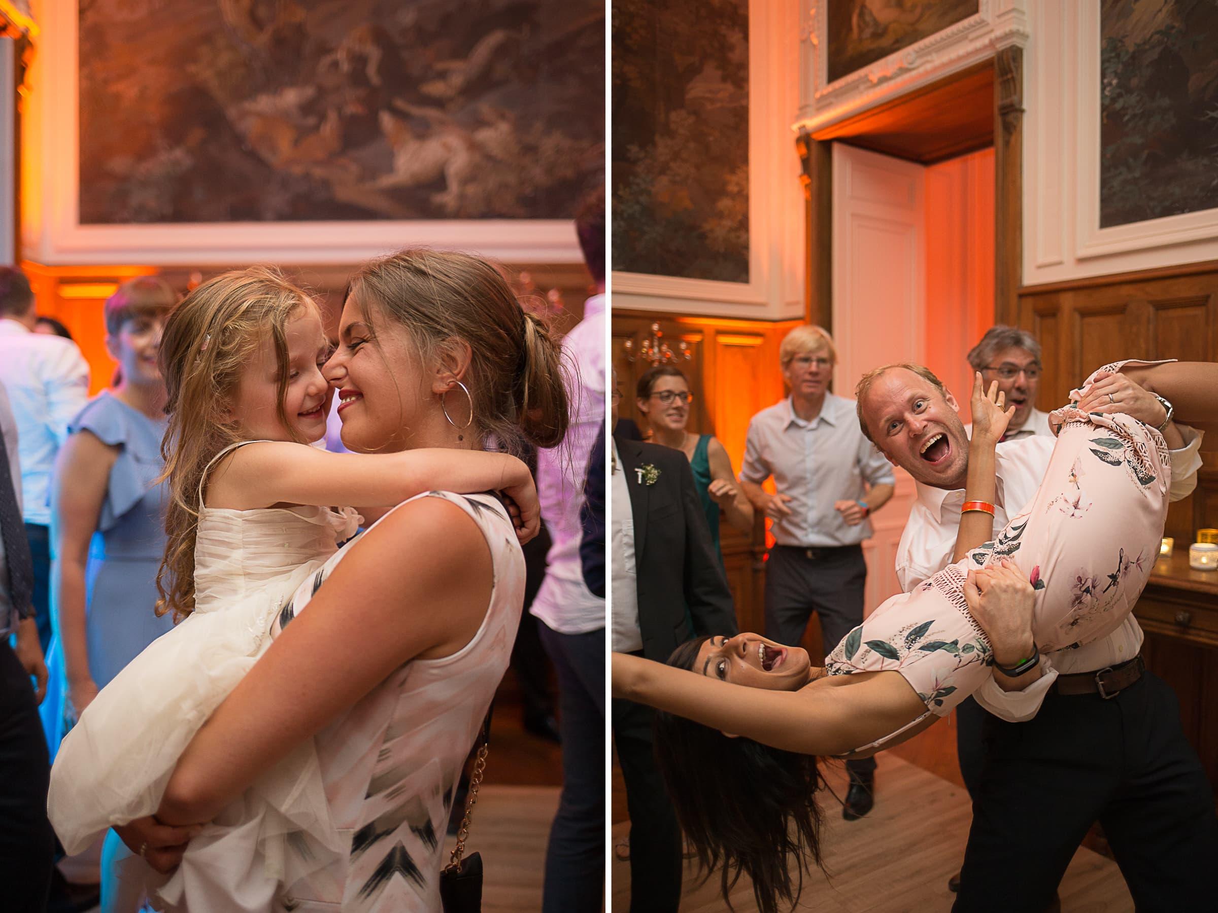 Soirée mariage château