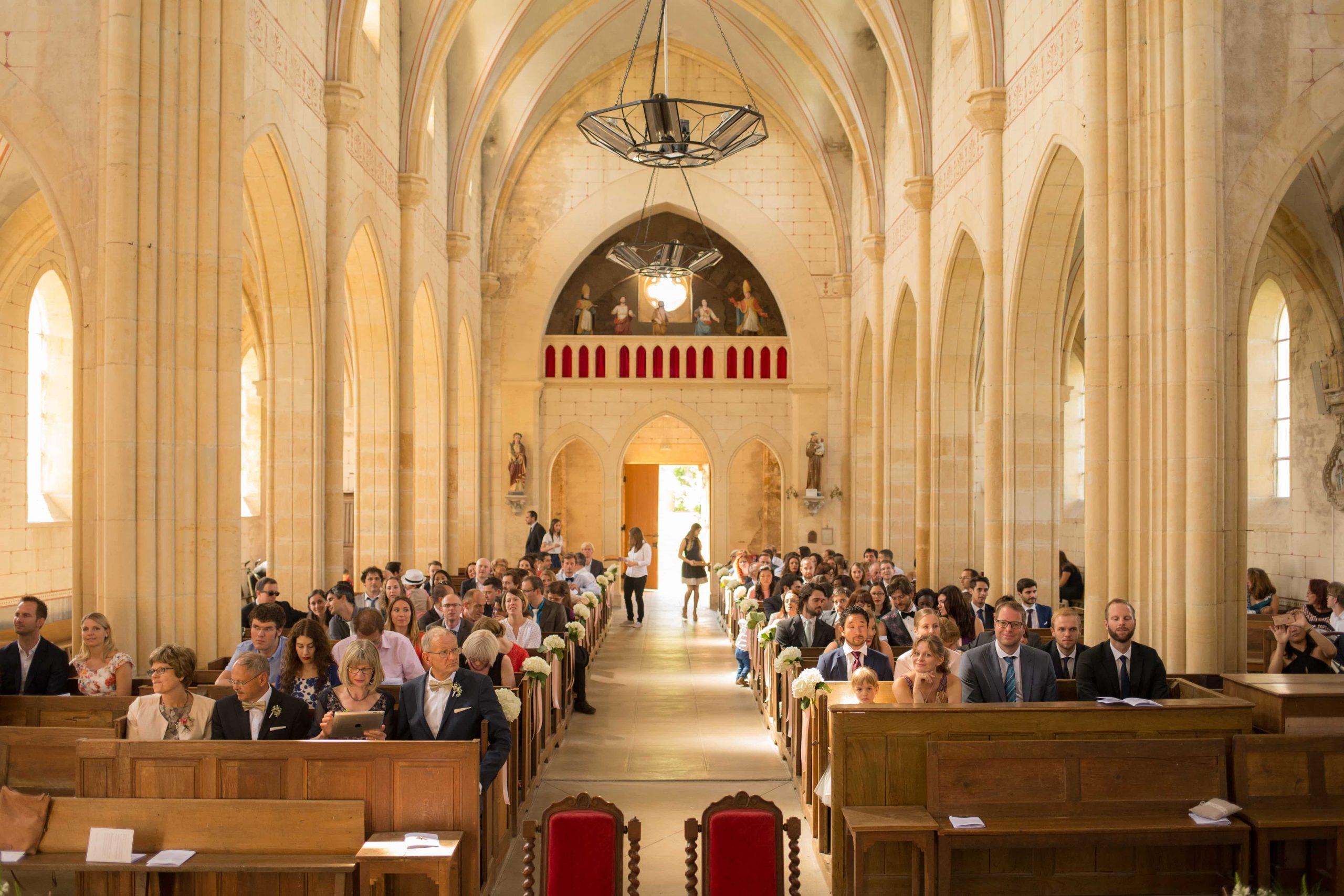 Cérémonie église Saint Sulpice