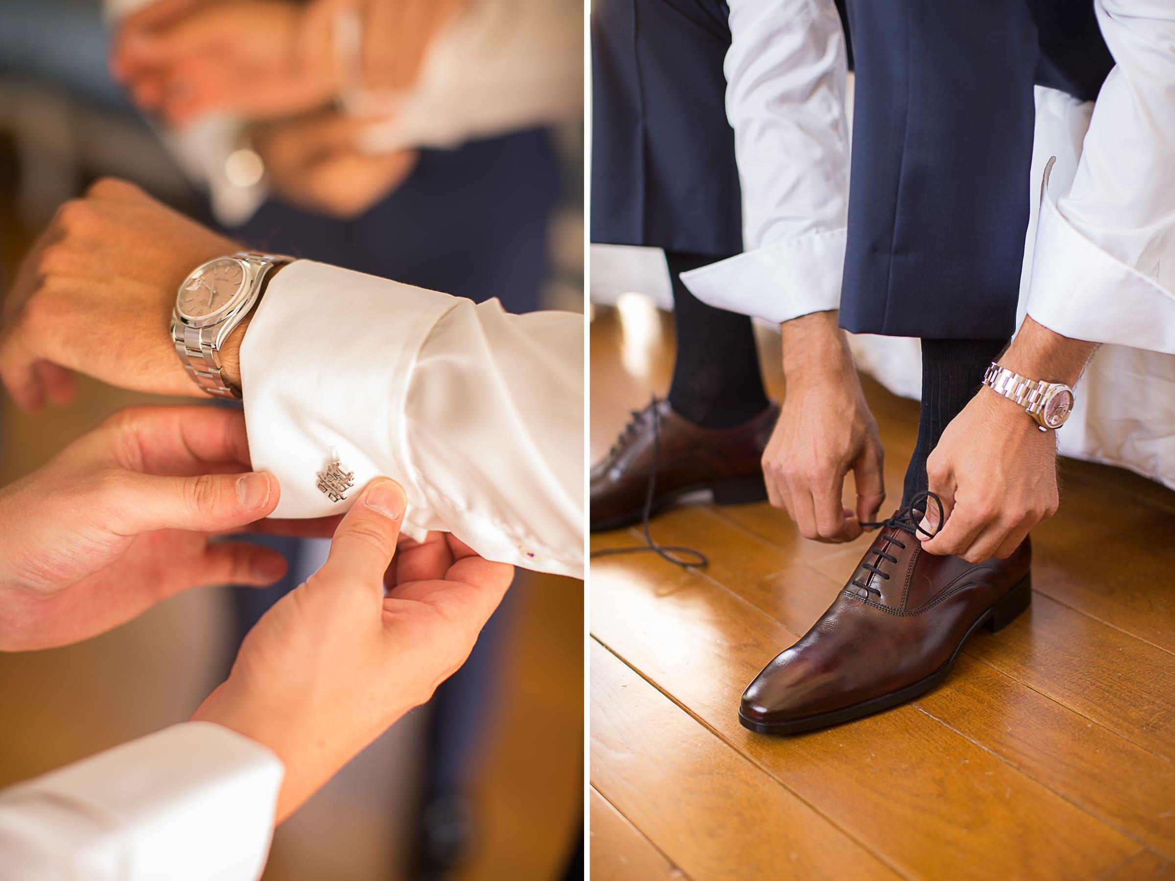 Photos détails marié