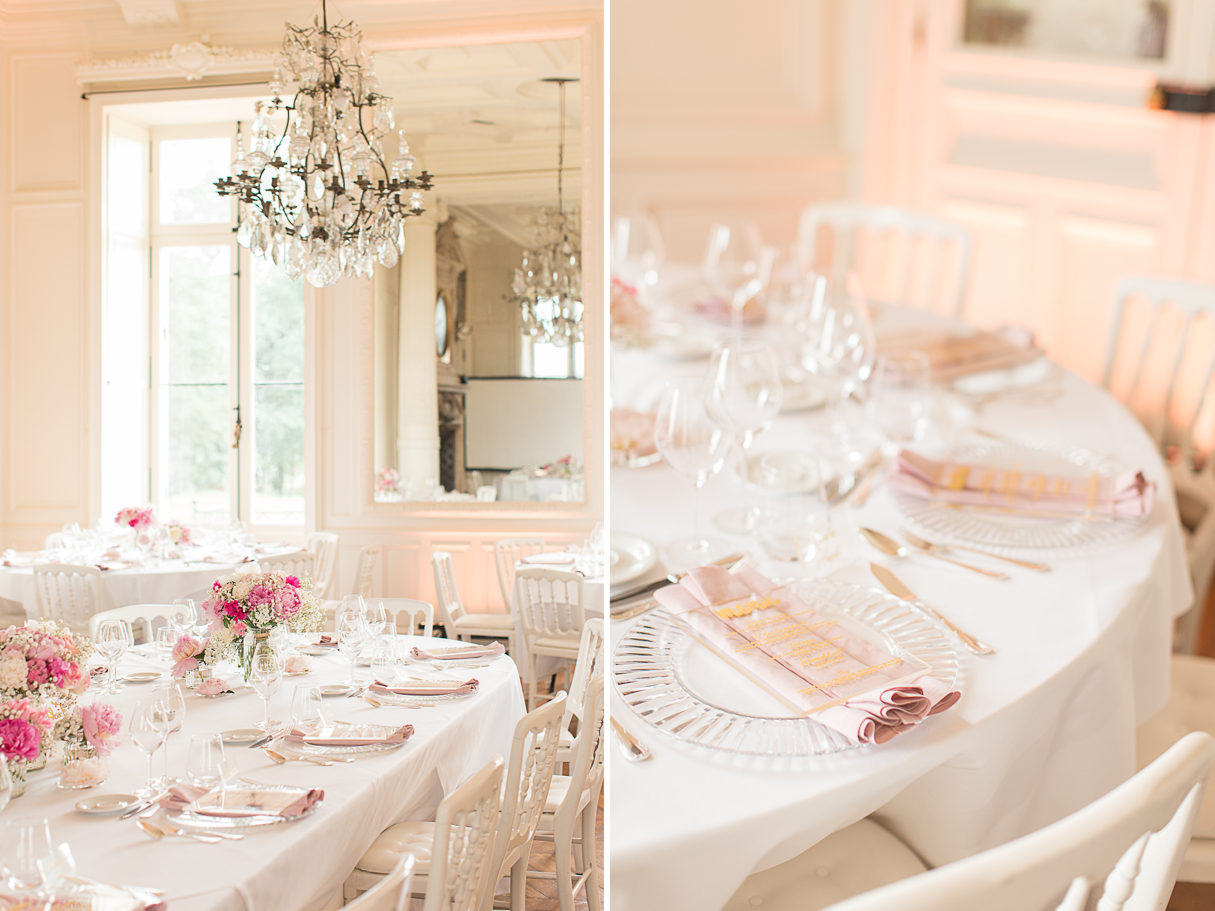 Wedding design chic and elegant in france