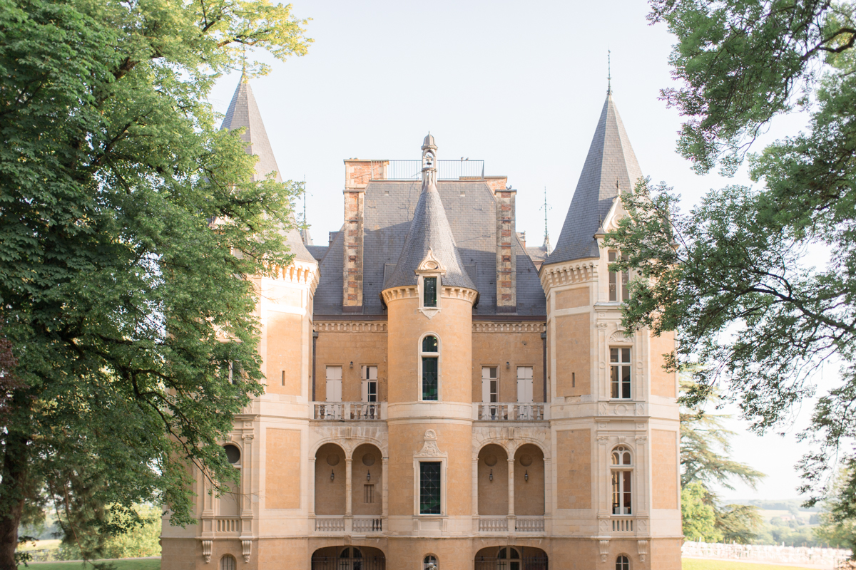 chateau d'azy vue du côté