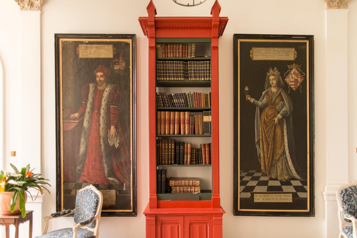 intérieur du château d'azy