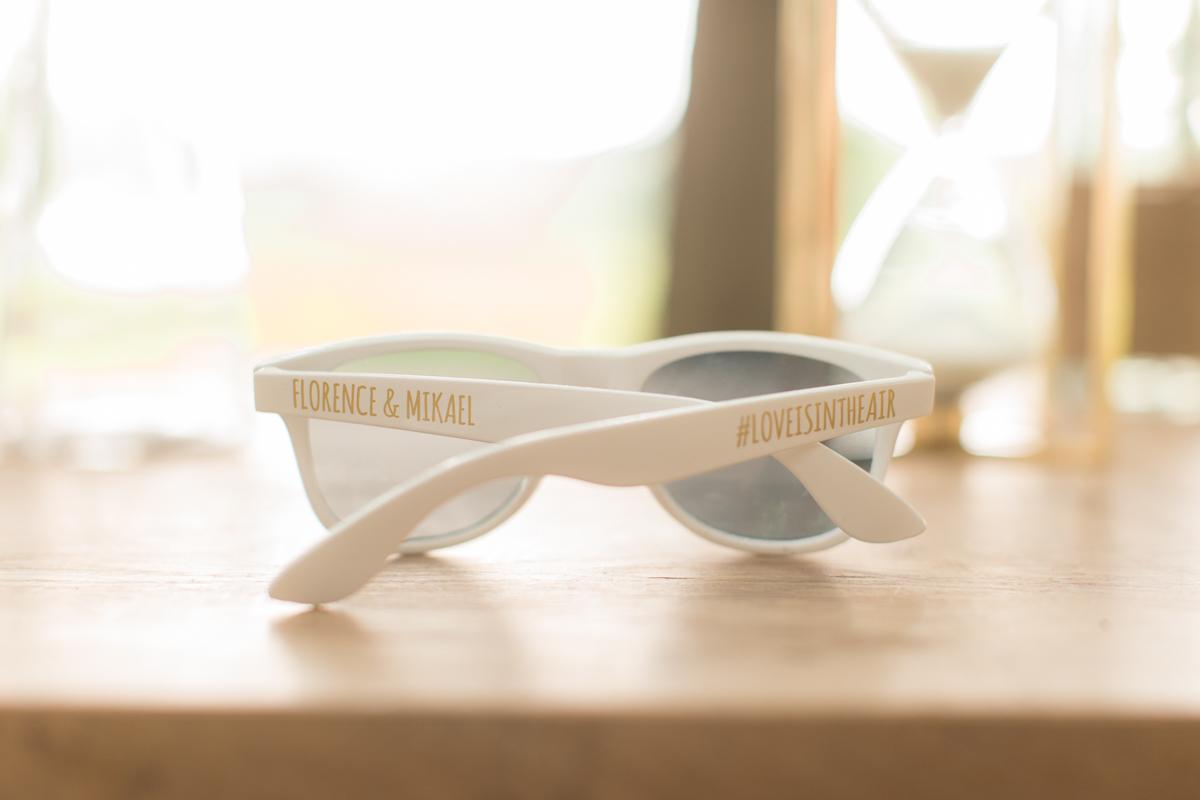 lunettes de soleil personnalisée