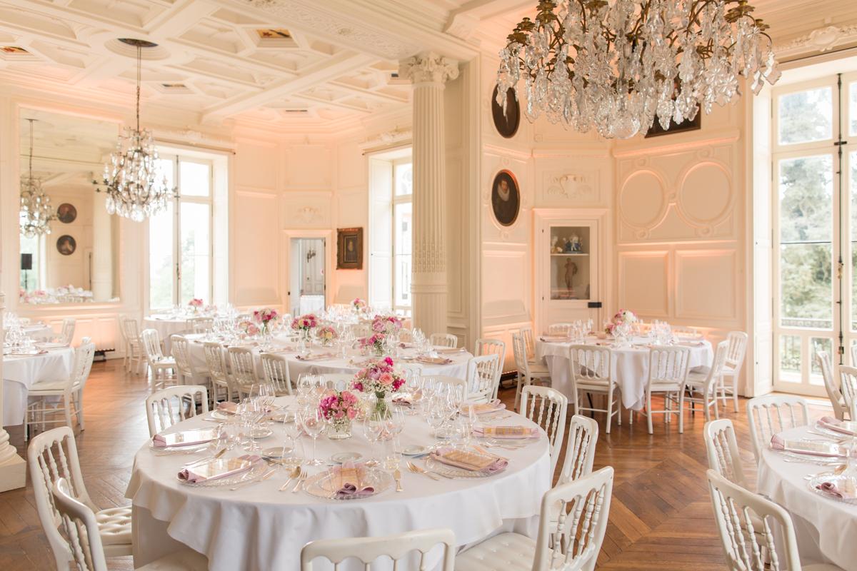 salle de diner du château d'azy