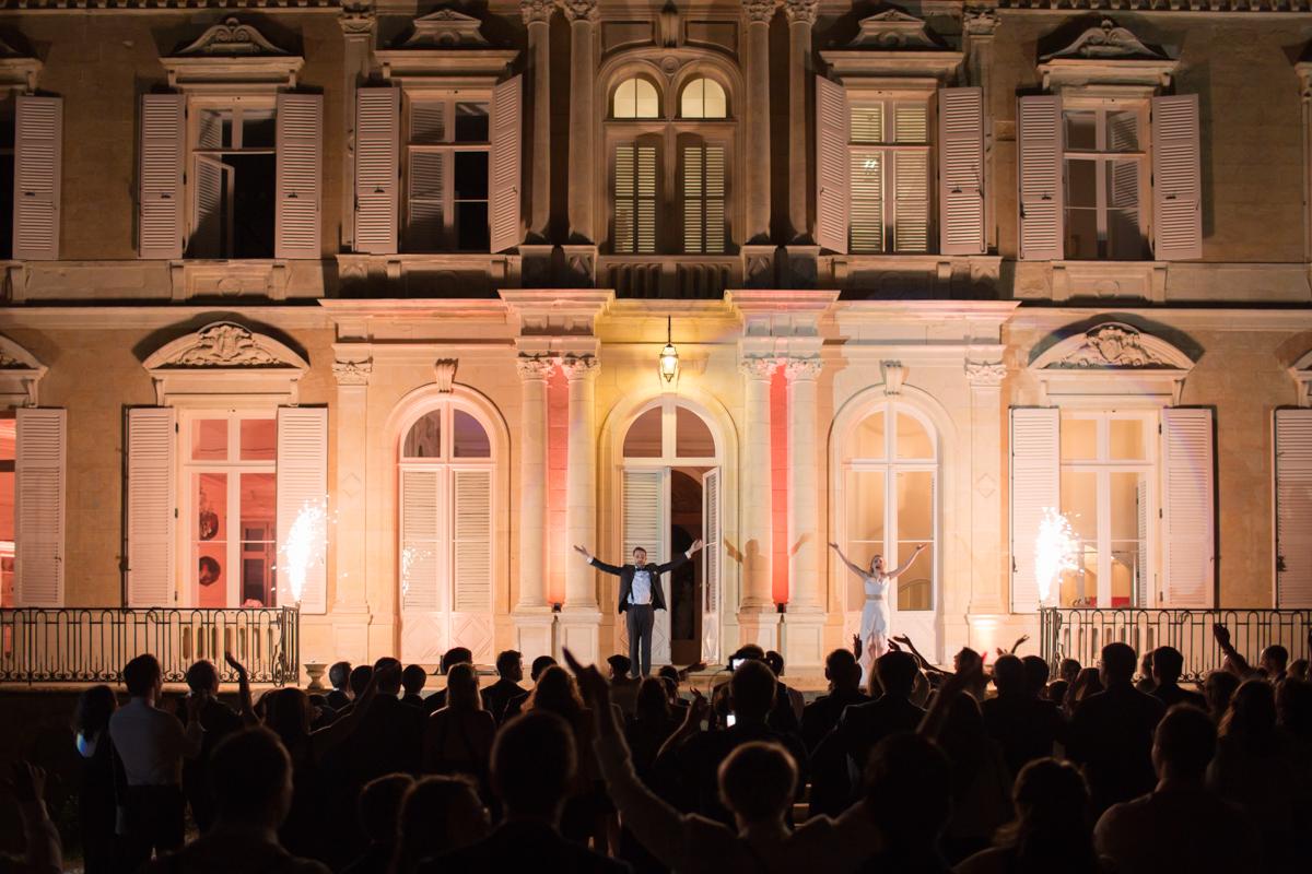 ouverture du bal des mariés au château d'azy