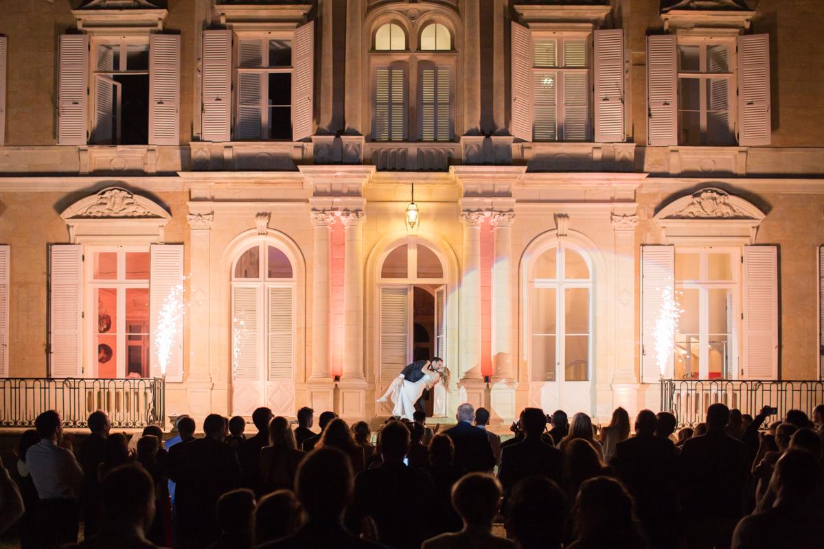 ouverture du bal mariage château azy