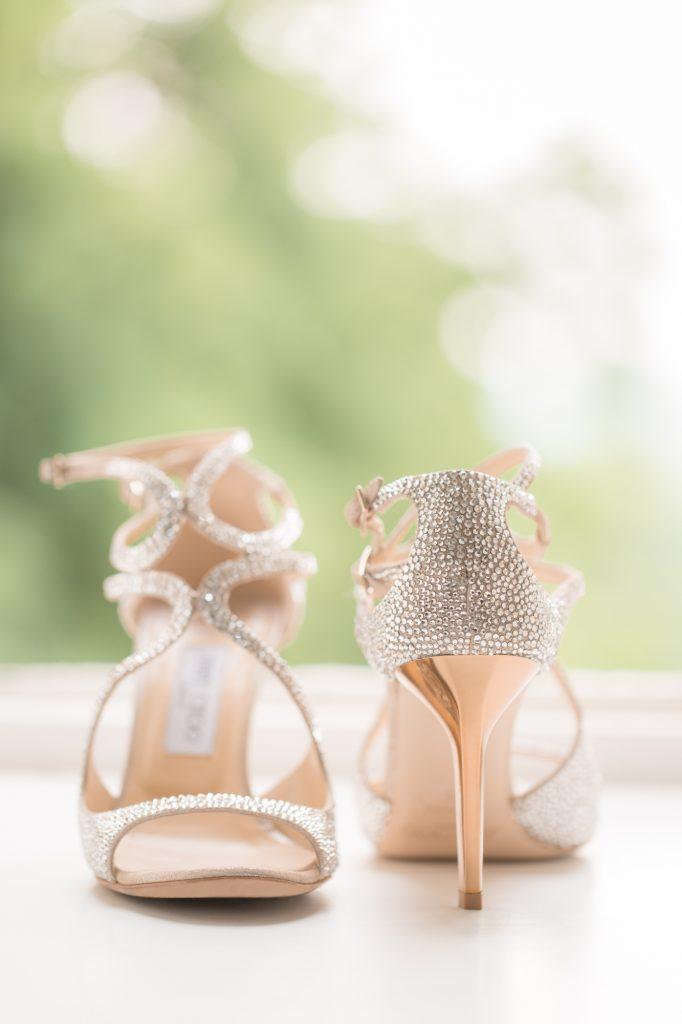 les chaussures de la mariée chic elegant