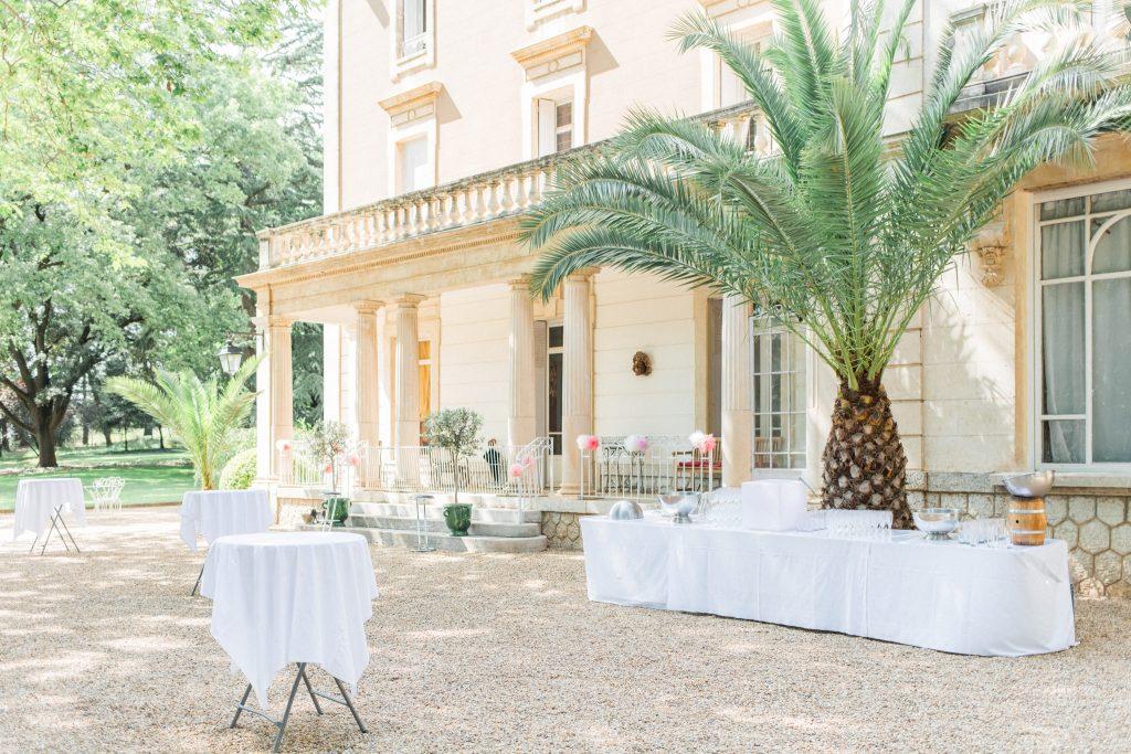 cocktail chateau de la banquière mariage