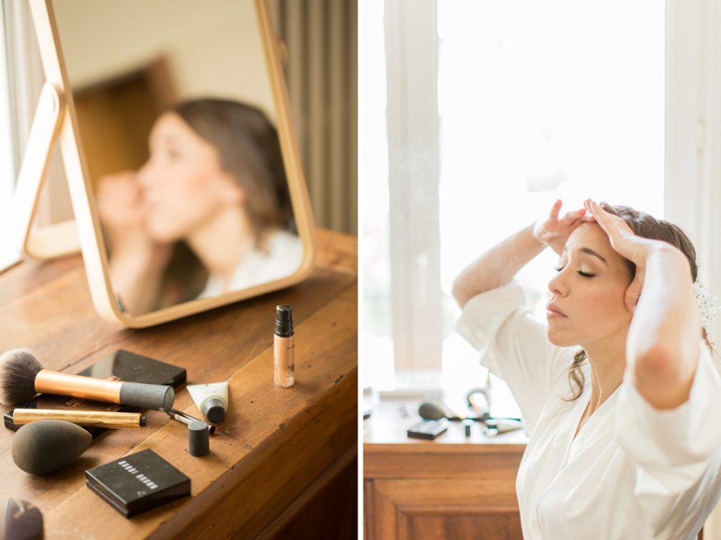 préparatifs maquillage mariée montpellier