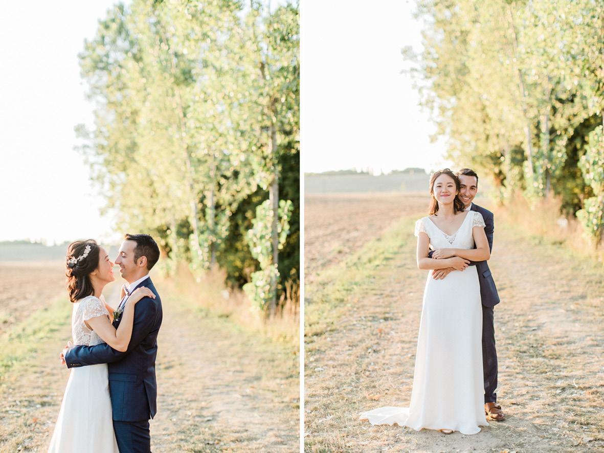 photos de mariés naturelles sans pose
