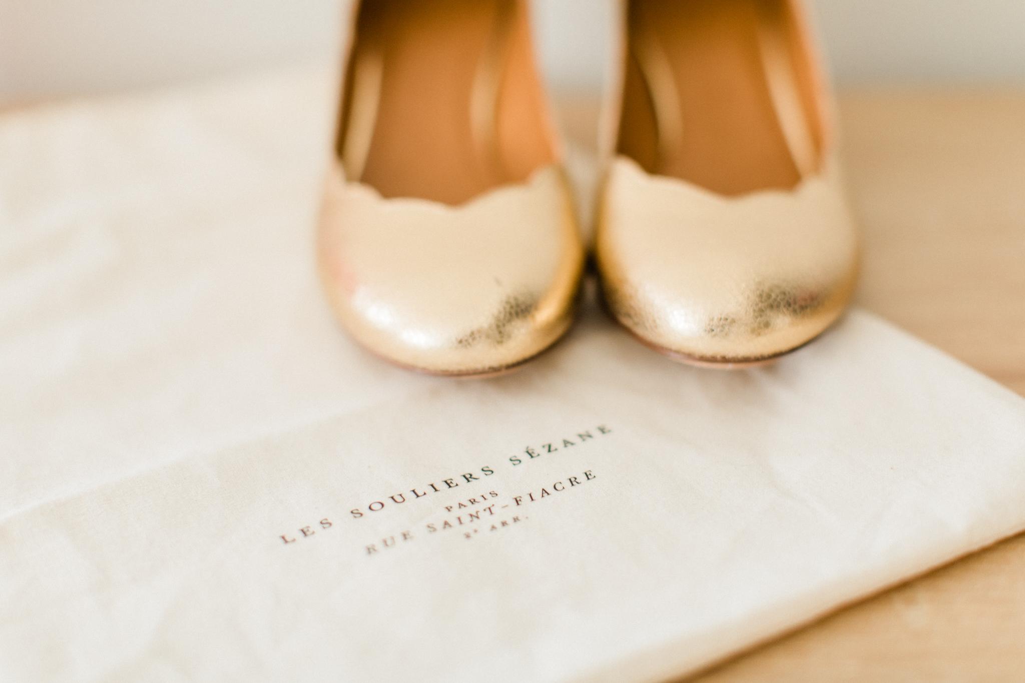chaussures mariée souliers sézanne