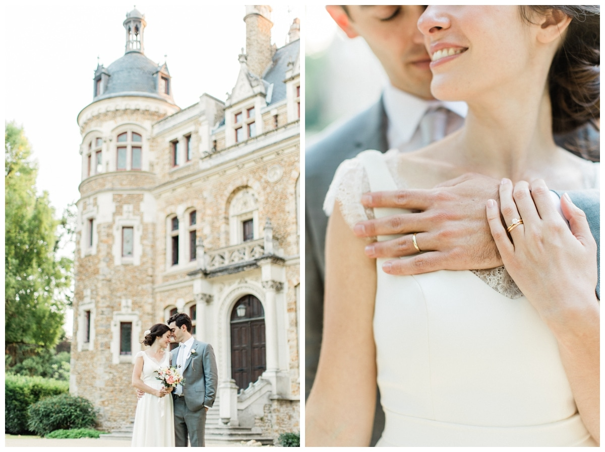 photos couple chateau mariage