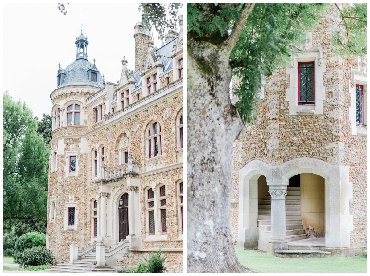 le chateau de méridon