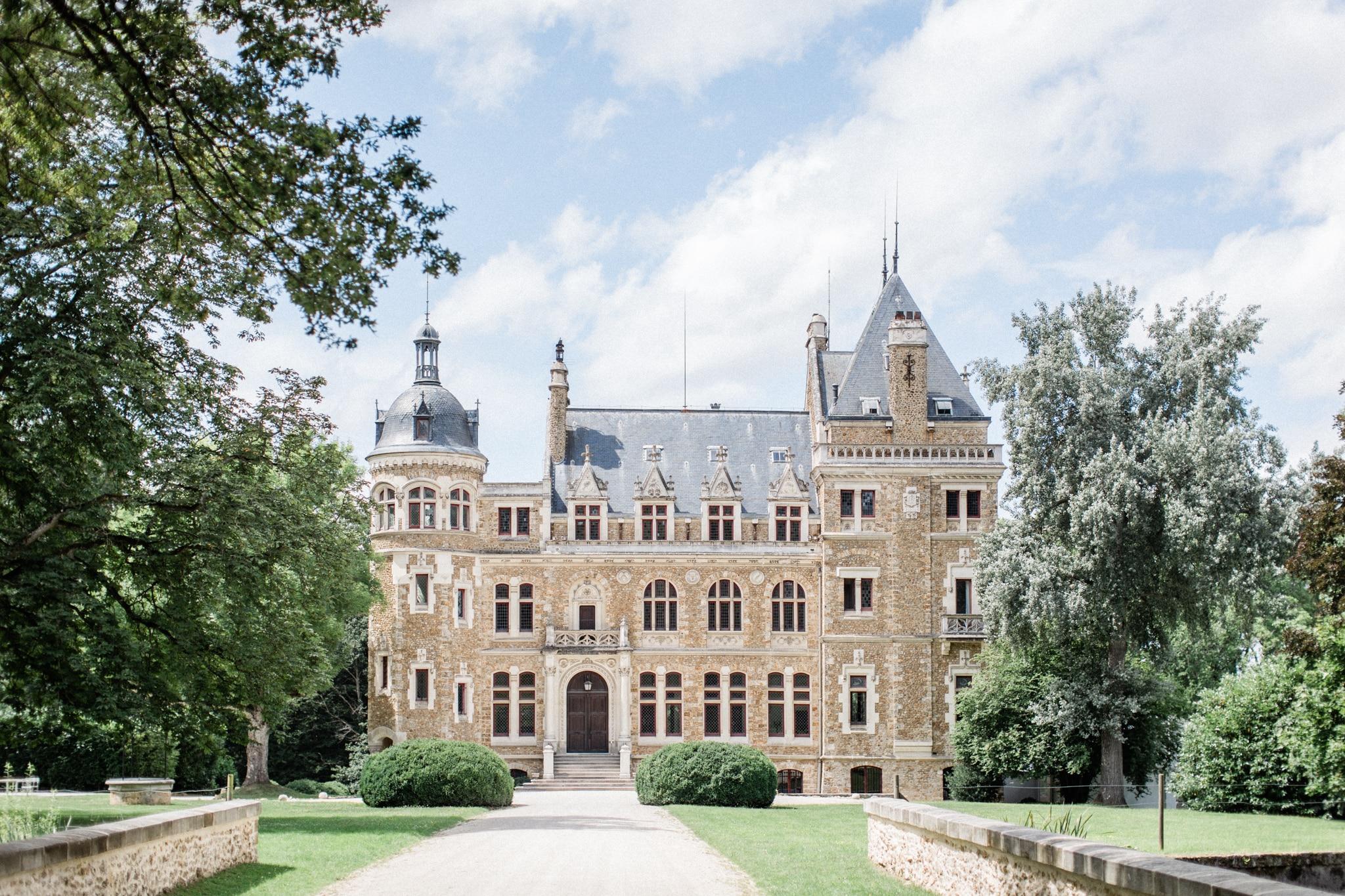 wedding venue france chateau