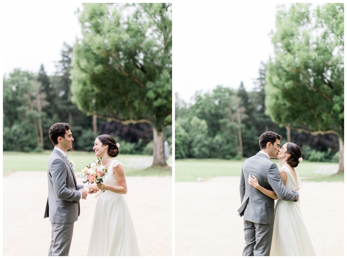 first look wedding france