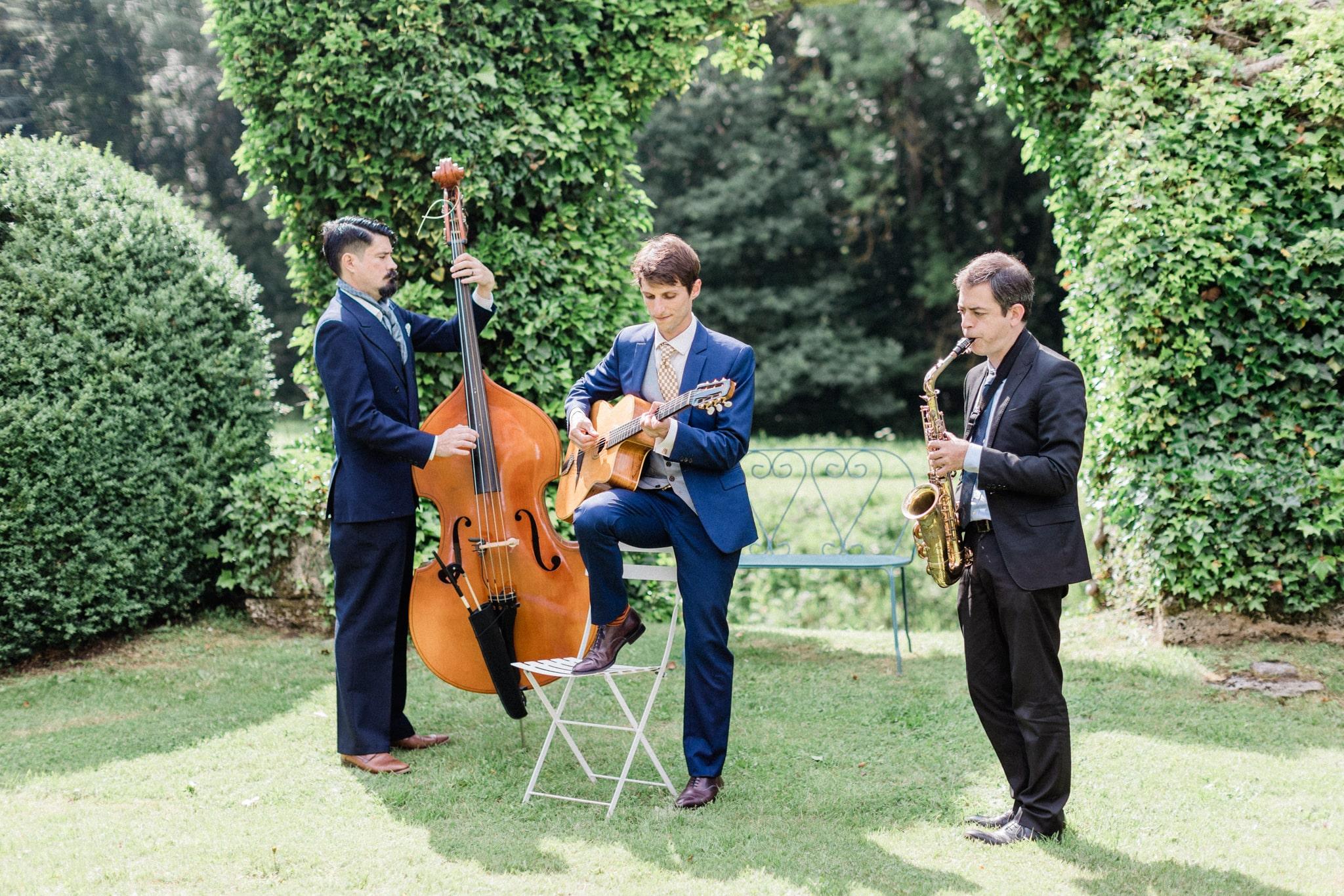 live band wedding france