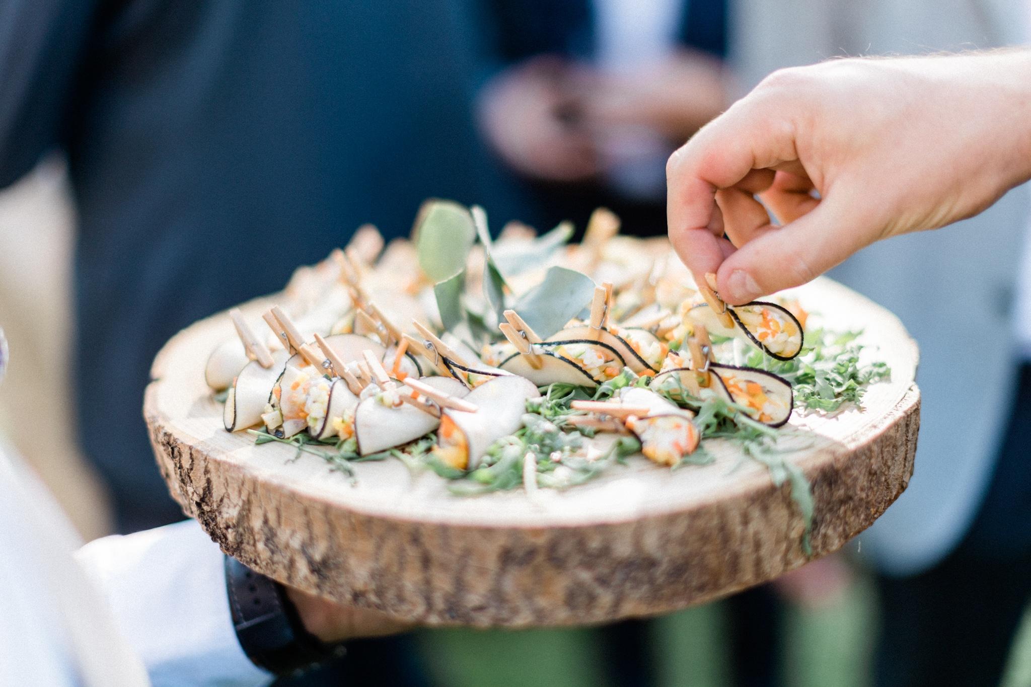 wedding French food