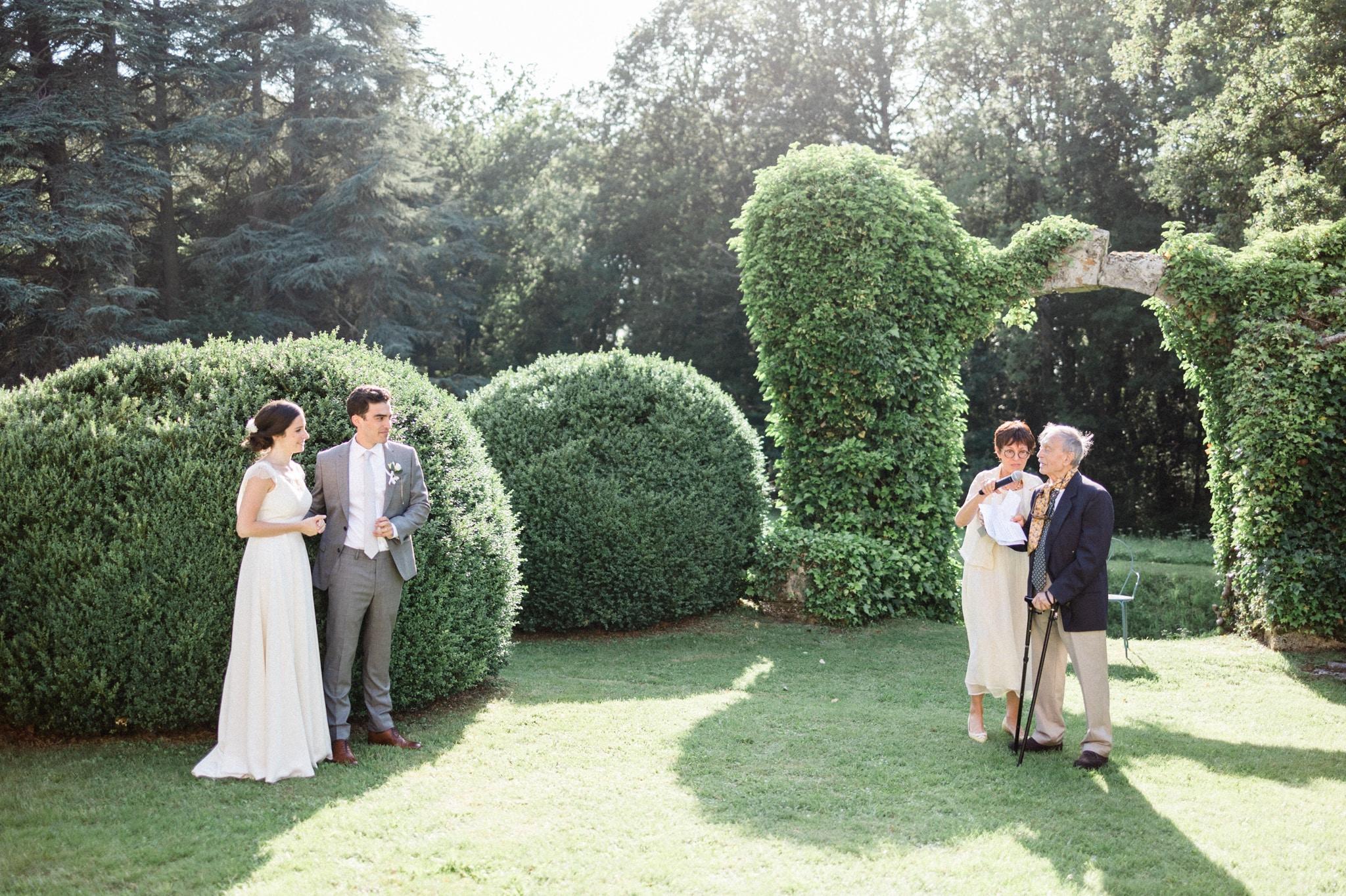 Paris wedding castle
