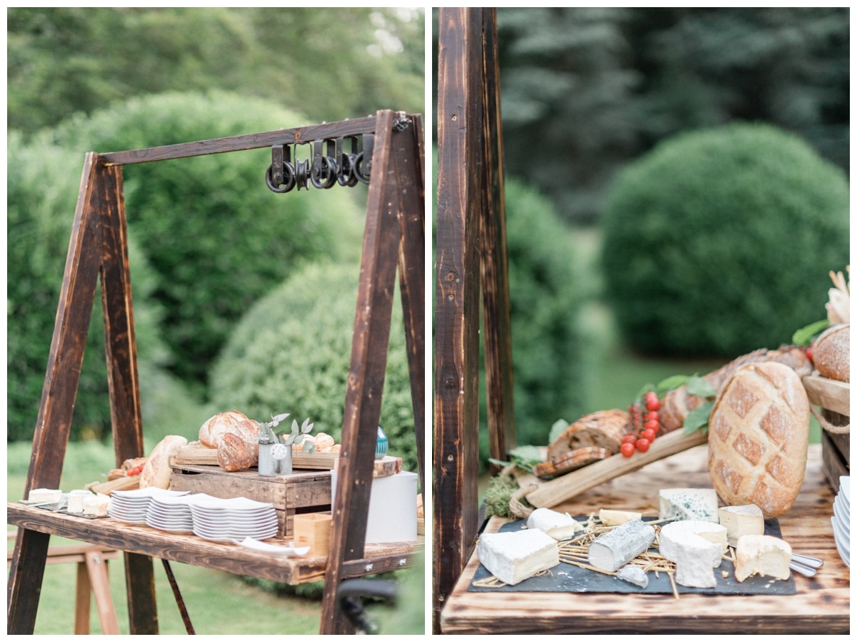 French cheese wedding