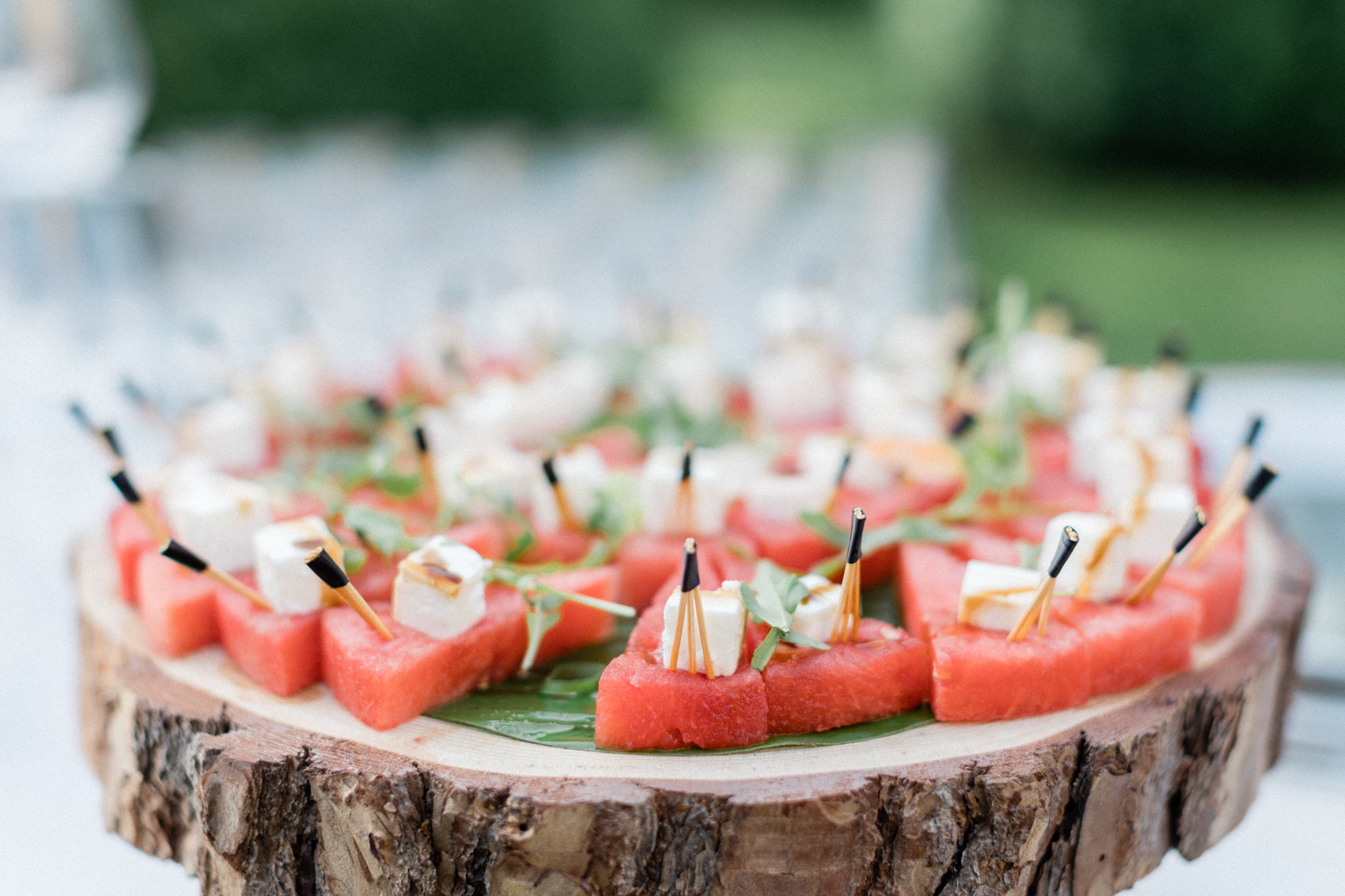Paris wedding food