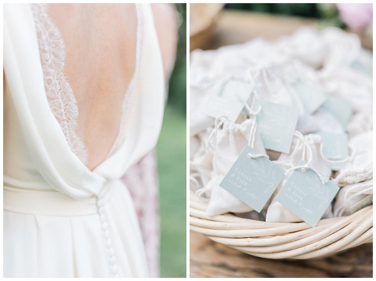 French bride dress
