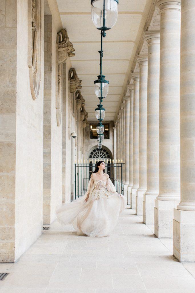 robe mariage élégante romantique top bridal Paris